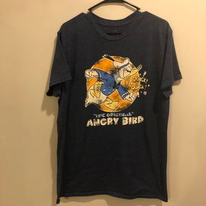 Disney Donald Duck angry bird graphic tee shirt